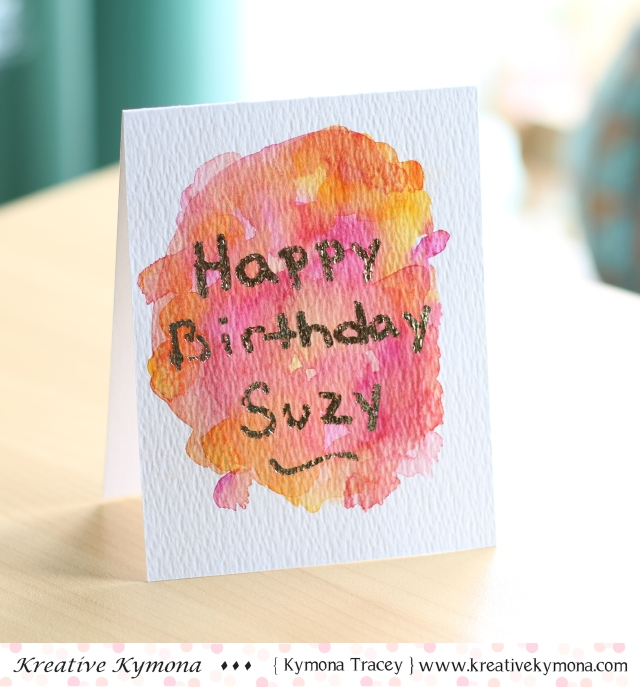 Suzy's Birthday