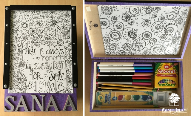 Kids Crafty Keepsake Box