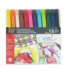 Koi watercolor brushes