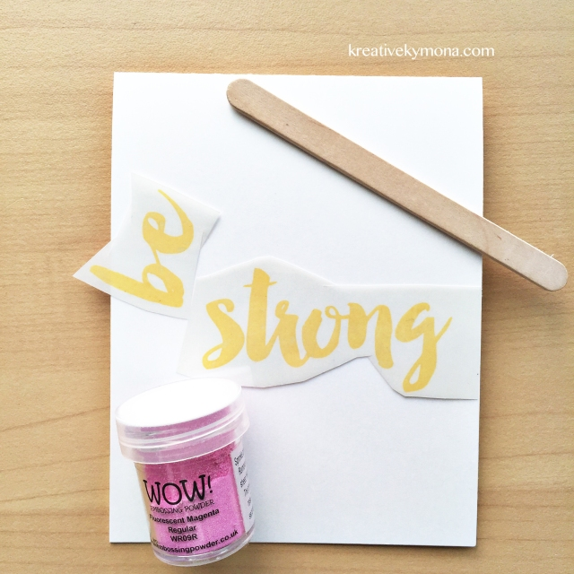 Be Strong supplies (CAS)