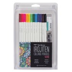 Tombow Irojiten Vivid Coloring Set