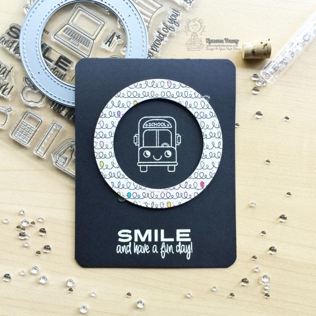 Smile school bus