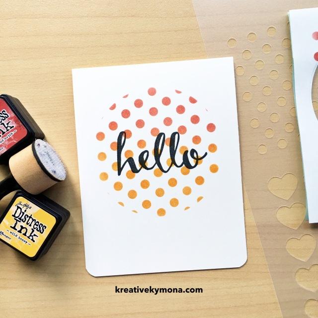 Hello (masked stencil) (TIMI)