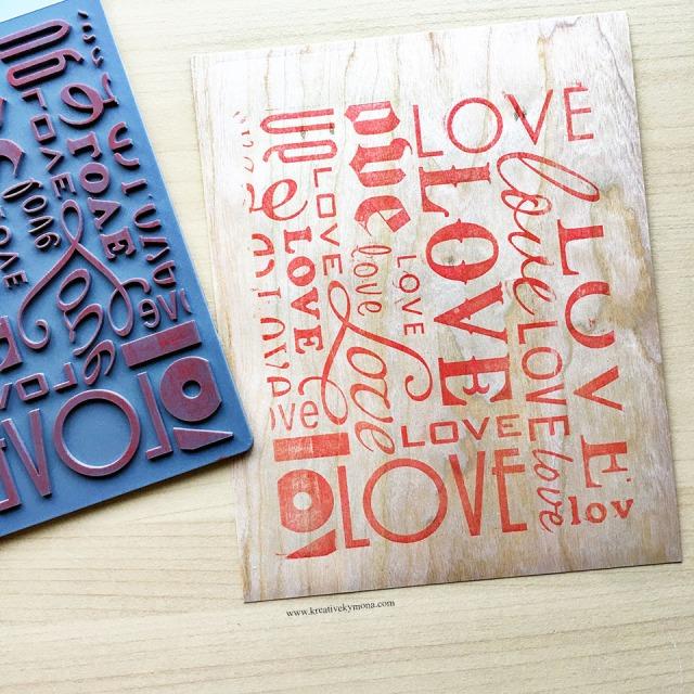 letterpressing