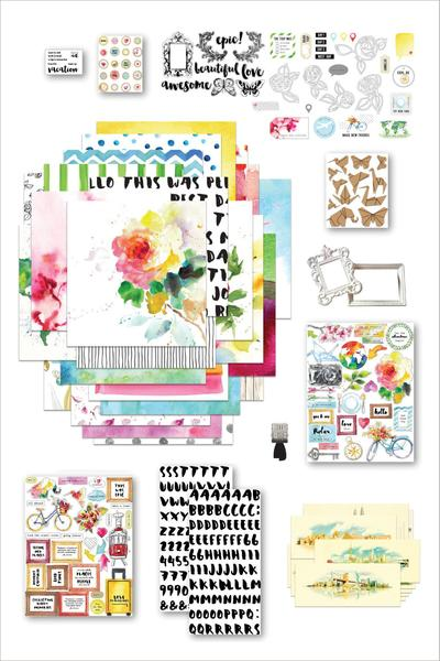 scrapbook collection kit