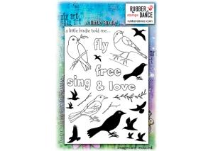 a little birdie stamp set