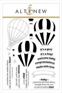 Altenew Baby Balloon Stamp Set
