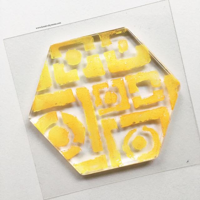 Gel Press Plate