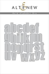 Altenew Bold Alphabet Die