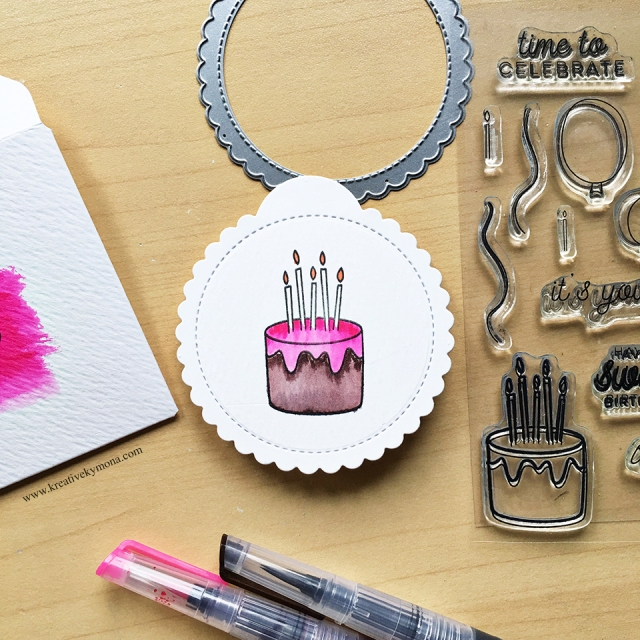 Right at Home Sweet Birthday Stamp set