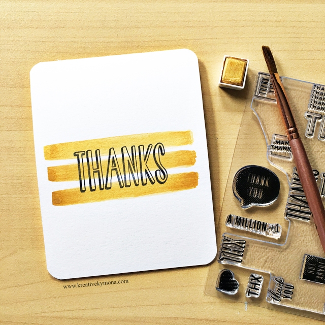 many thanks turnabout stamp set