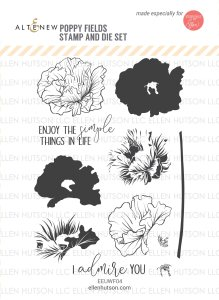Poppy Field Stamp set