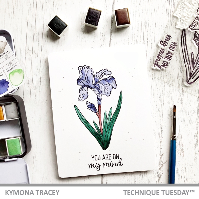 Iris Clear Stamps