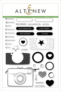 Snapshot stamp set