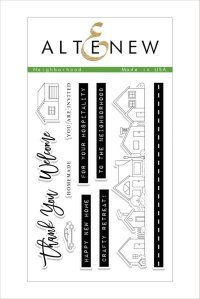 Altenew Neighborhood stamp set