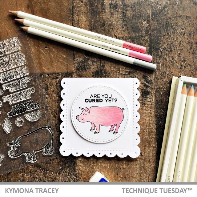Parker & Penny Pig Stamp Set