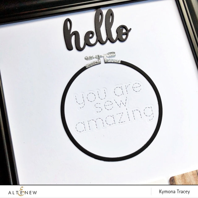 Circle embroidery hoop