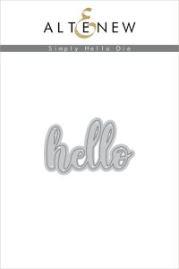 Altenew Simply Hello Die