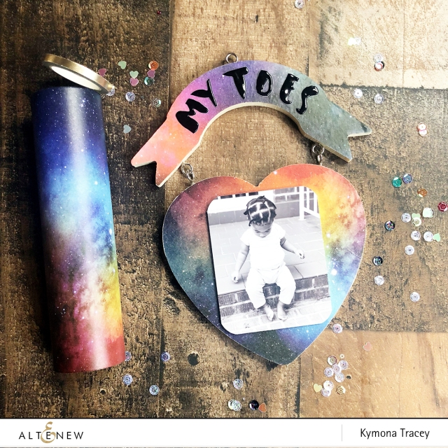 Watercolor Nebula Wash Tape