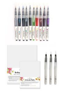 Watercolor Brush Marker Bundle