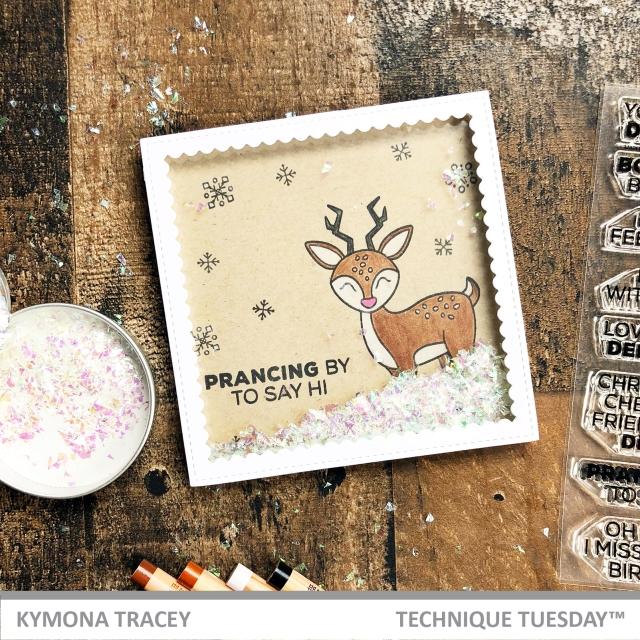 Dani Deer Stamp Set