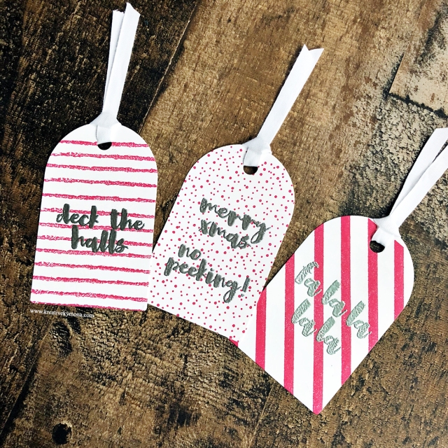 Holiday Chic tags