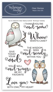 You'r Owlsome stamp set