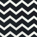 Chevron Black and White fabric