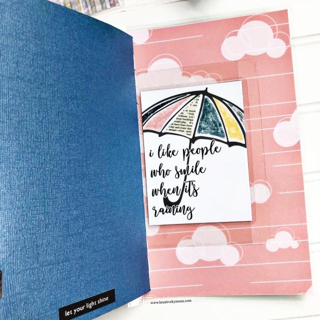 Raining Pattern Paper