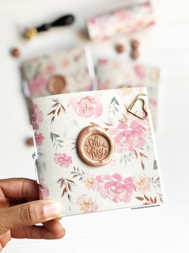 Pink Peonies washi tape
