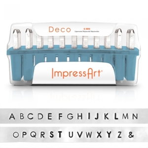 Deco Letter Stamps
