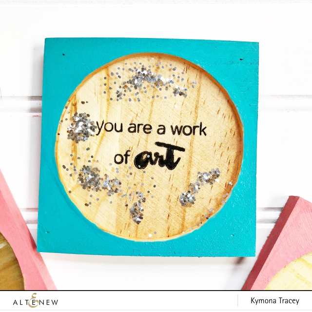resin wooden coasters