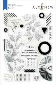 Dot Art Stamp set