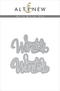 Hello Winter Die Set