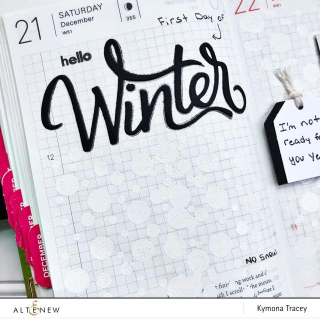 Hello Winner planner page