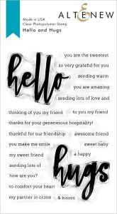 Altenew Hello and Hugs