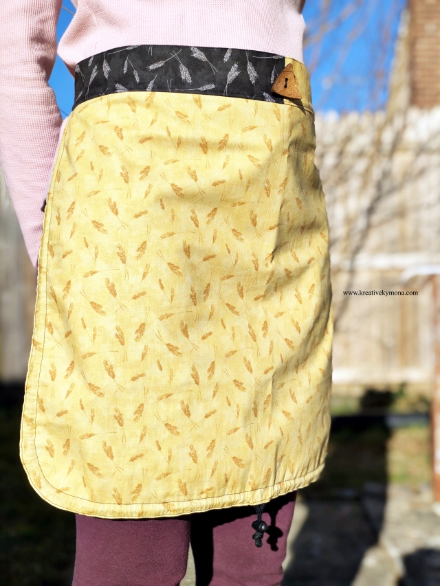 full basket apron