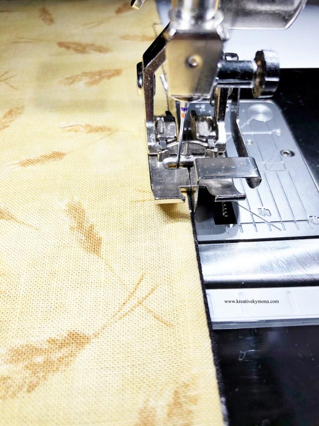 Stitch the sides