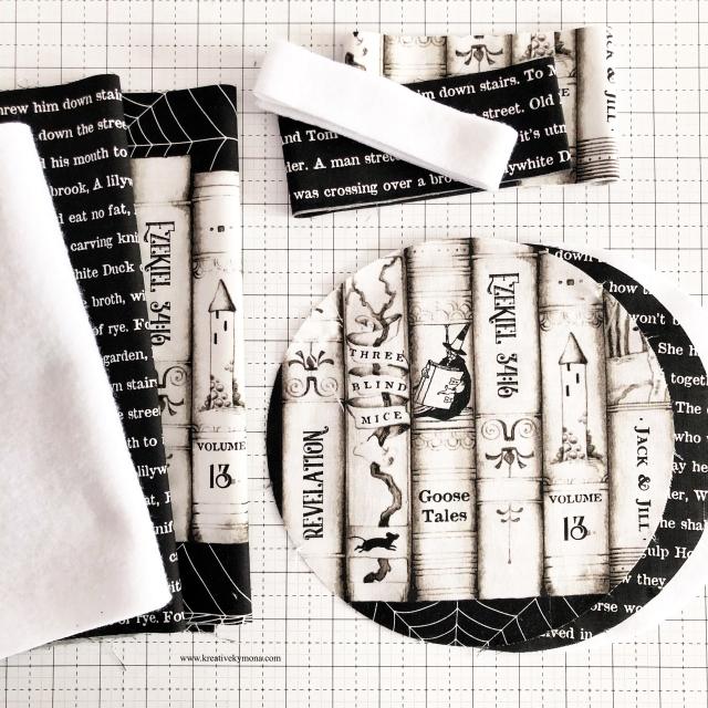 Goose Tales fabric basket Materials