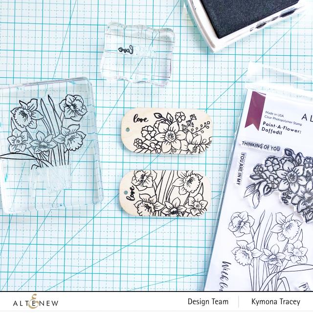 Daffodil stamp set