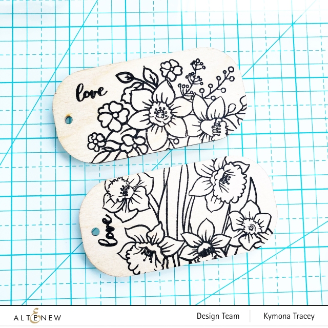 Daffodil stamp set