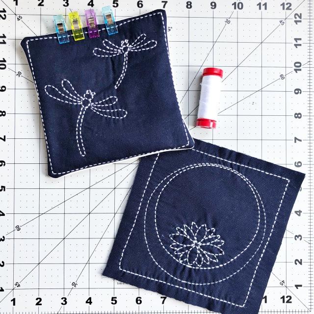 hand-stitch closure