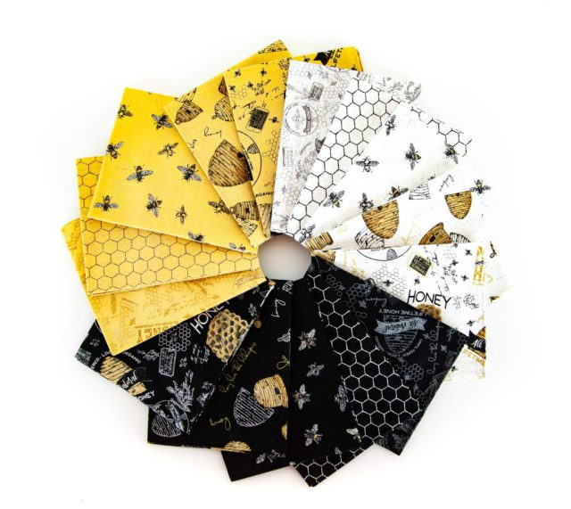 bees life fabric