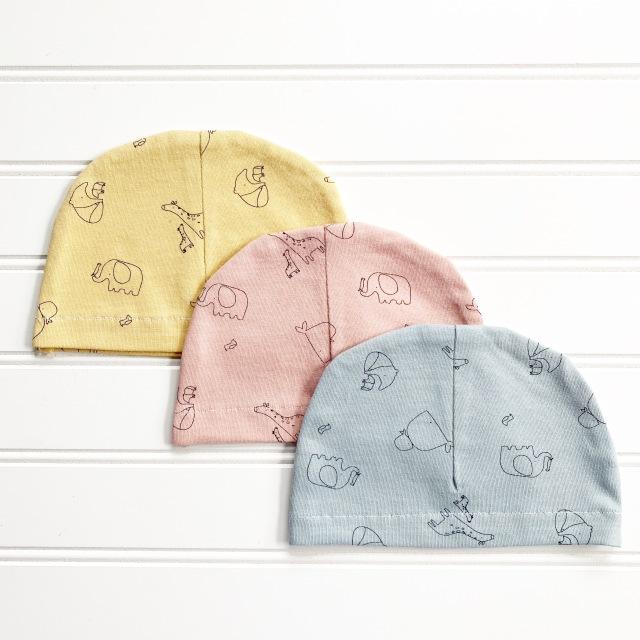 Baby Hat Designer Knit: Finished Product