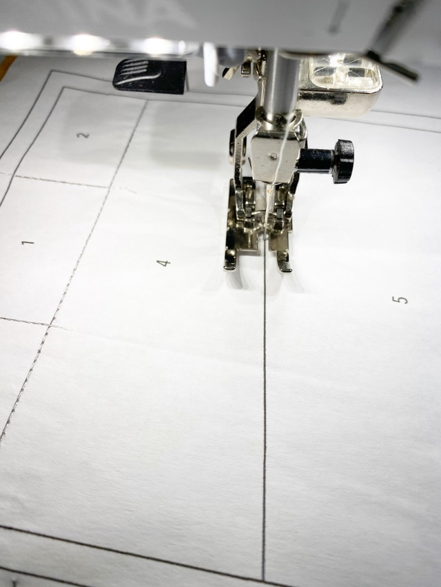 Garment District: Start the foundation paper piecing