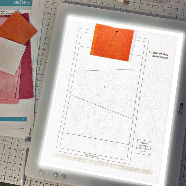 Garment District: Start foundation paper piecing