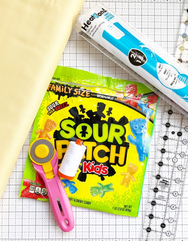 Candy Pouch: Materials