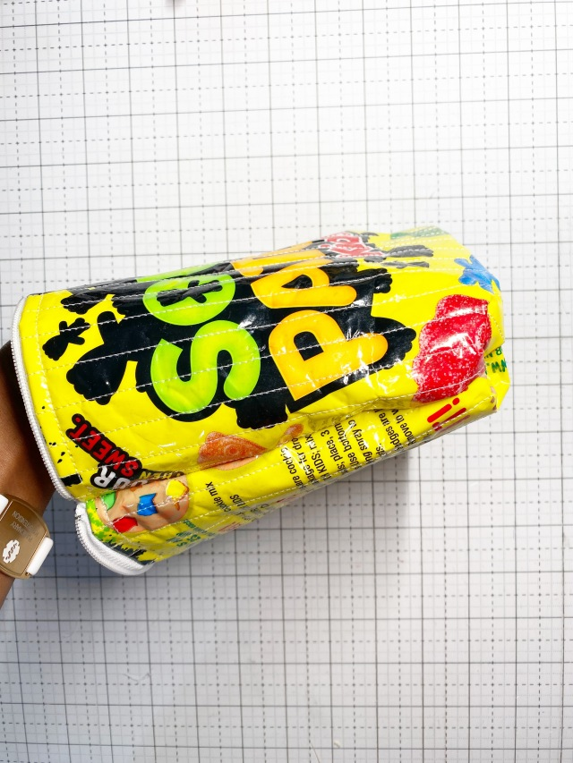 Candy Pouch: Sew the bag