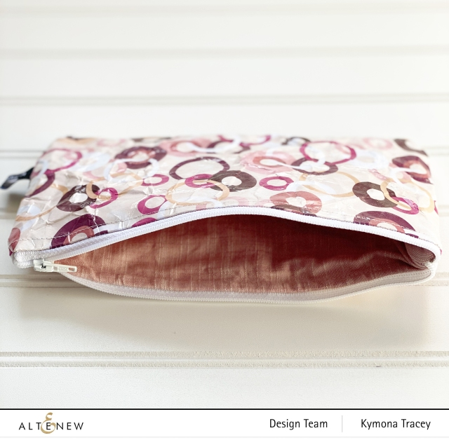 Distress Paper Pouch: Inside