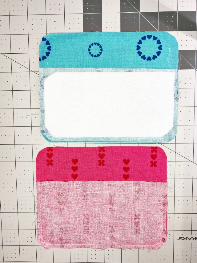 Glasses Cases: Add Interfacing